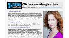CFDB interviews Georgiana