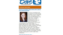 January 2013-The Dove Foundation Interviews Georgiana Jianu