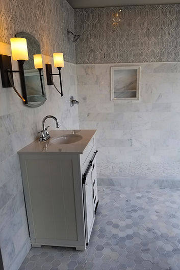 Beautiful tile selections