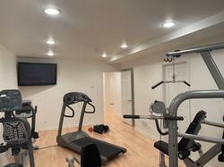 Light Hardwood Exercise Room