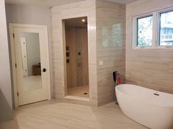 Libertyville custom bathroom