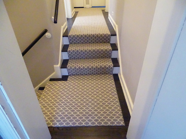 stair runners and treads