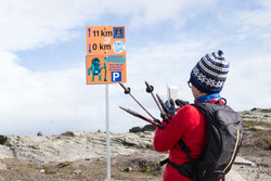 km 11 - and now back again