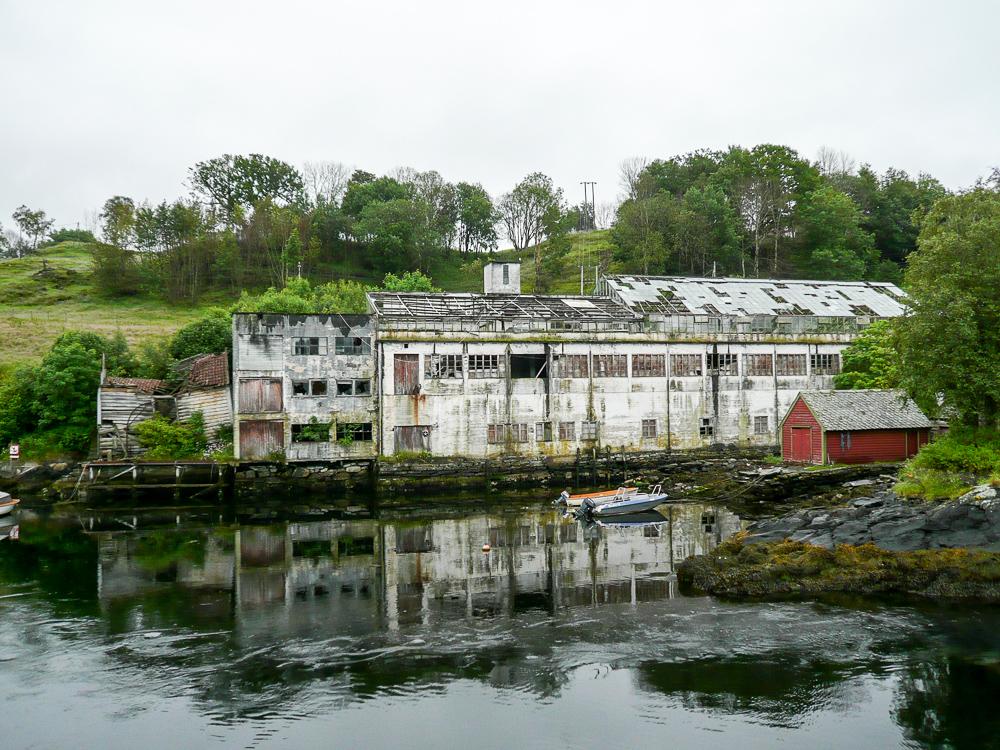 Former industry building