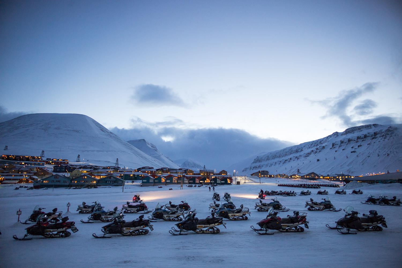 Back in Longyearbyen