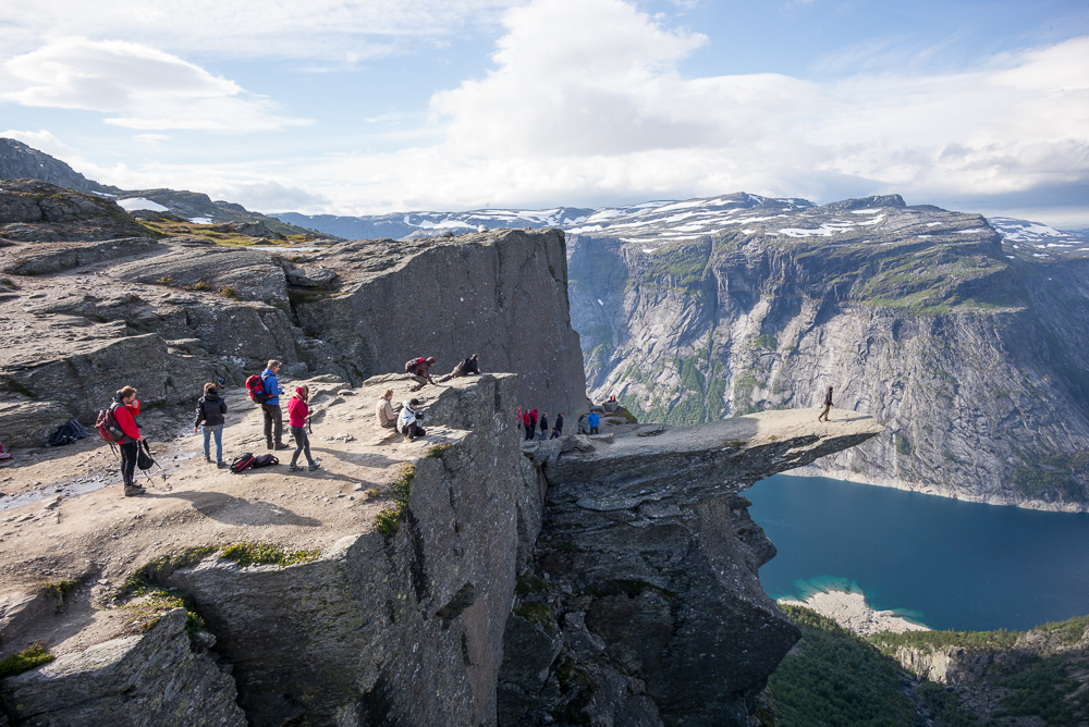 The famous Trolltunga