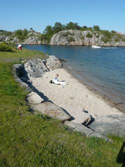 Norway´s smallest beach?