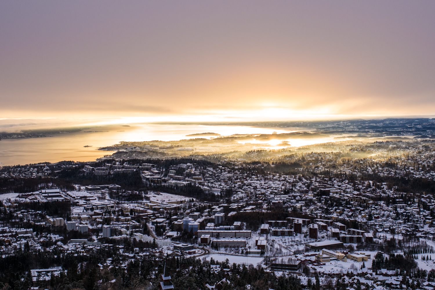 Oslo in the winter