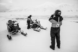 Snow scooter tour to Tempelfjorden