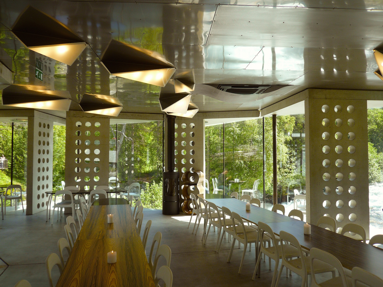Cafe at Gudbrandsjuvet