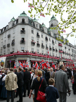 Oslo during the National Holiday