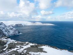 View to Knivskjellodden