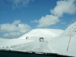 Driving to The North Cape