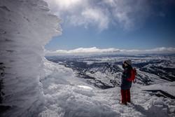 Icy views