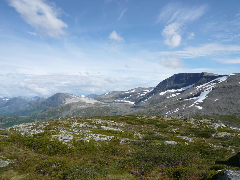 Hiking tour above Geiranger