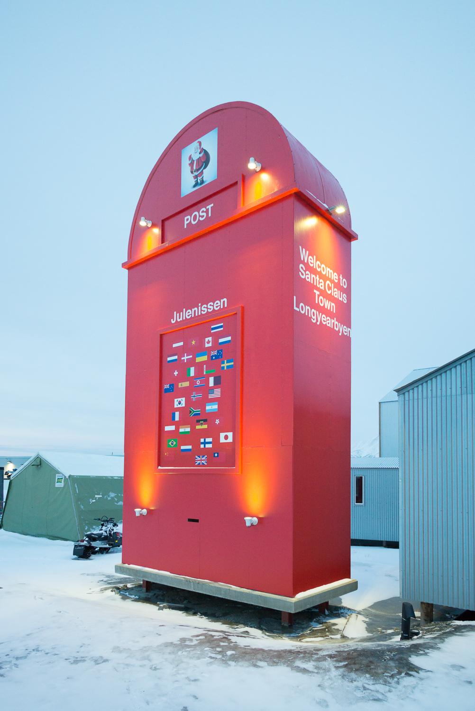 Santa Claus letter box