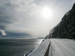E69 towards Magerøya/North Cape