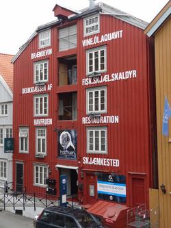 Old storage houses