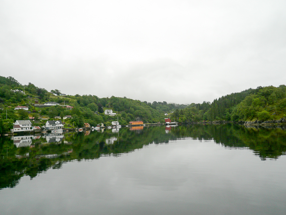 Outside Bergen