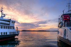 Ferries at Aker Brygge