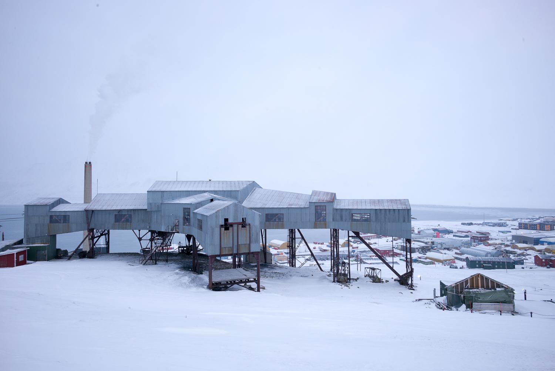 The old coal-mine