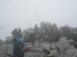 On the summit :-(