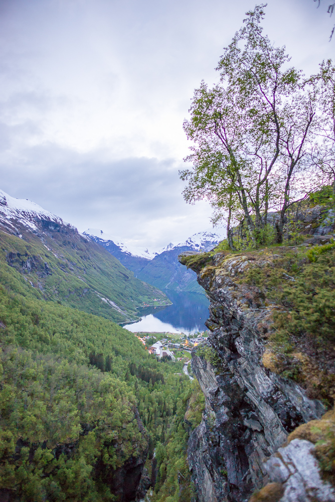 The famous view onto the Geiranger