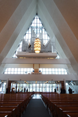 Ishavskatedralen inside