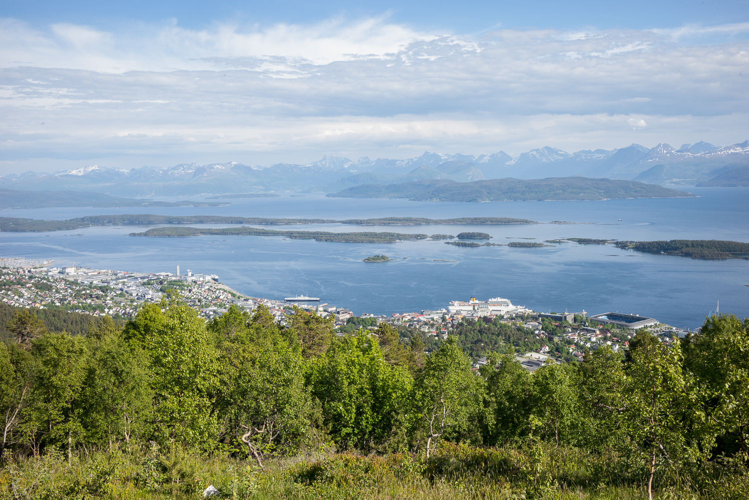 View from Varde above Molde
