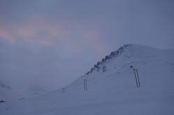 Mountains around Longyearbyen