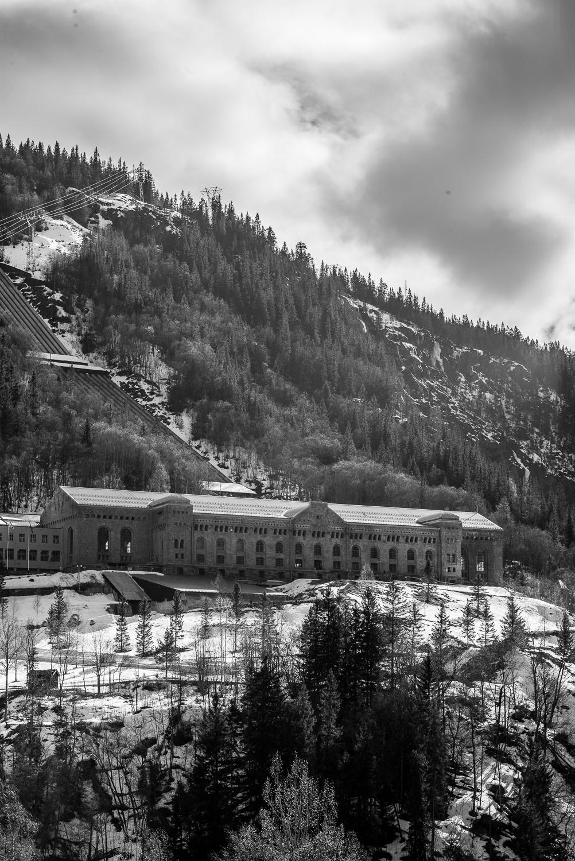Power station in Rjukan