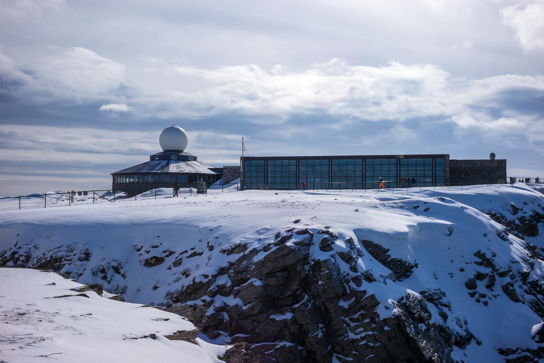 The North Cape building