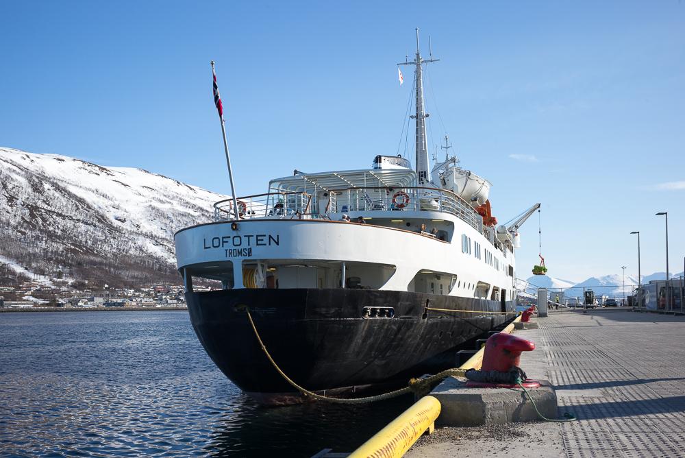 MS Lofoten, the oldest ship