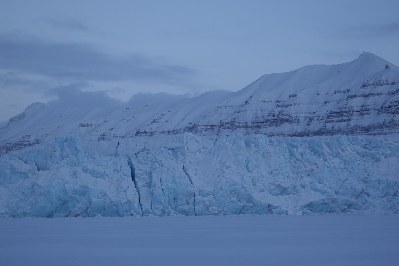 Post glacier at Tempelfjorden