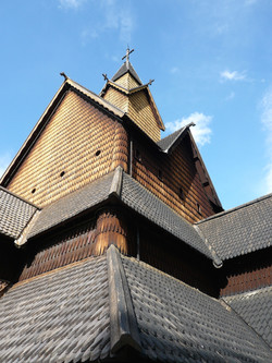 Heddal stave church