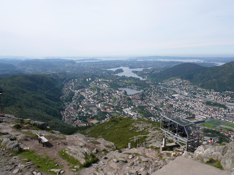 View from Ulriken