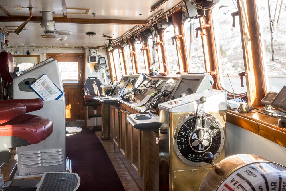 Captains work place