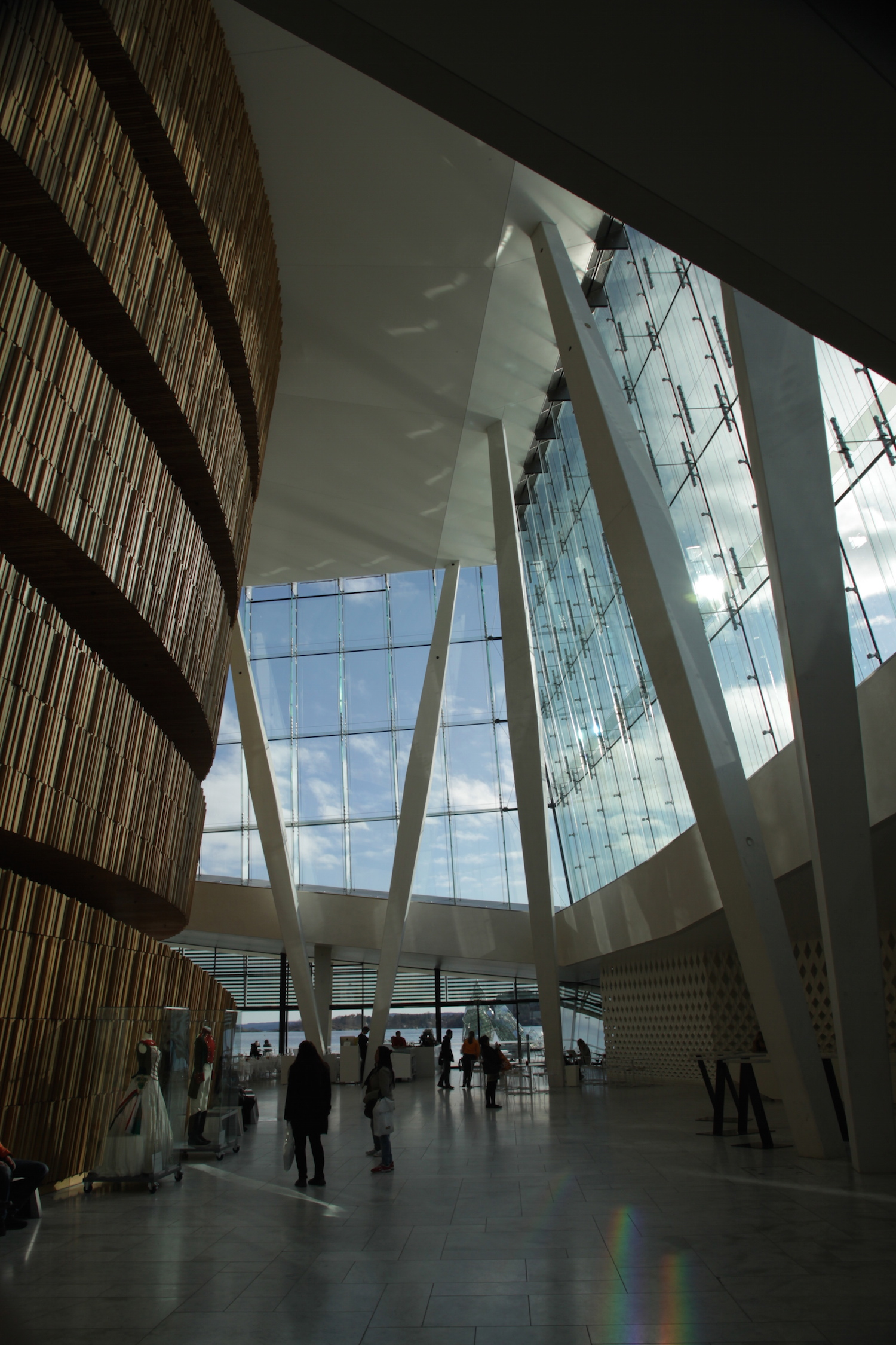 Inside the opera