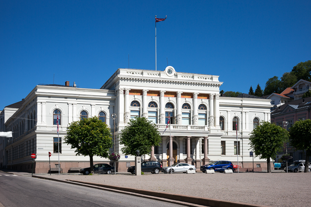 City hall in Skien