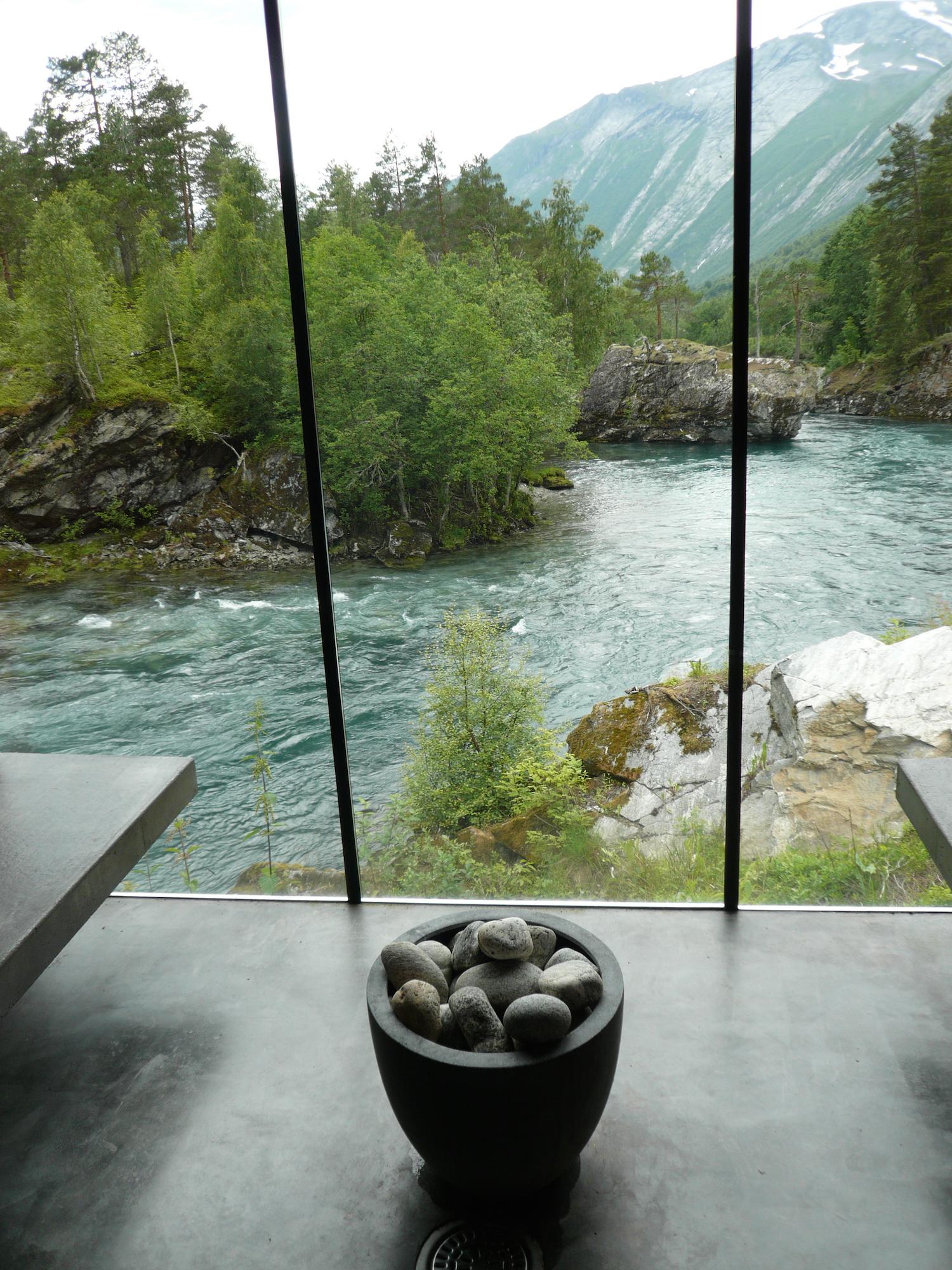 Hotel Juvet, sauna