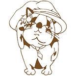 神戸元町の下山手通・鯉川筋にある美容室「アジト」AGIT. for HAIR / 招き猫・たぬき猫