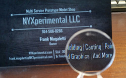 Magnifying Glass Casting