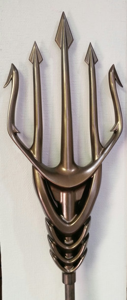 Trident Design Used for Aquaman Movi