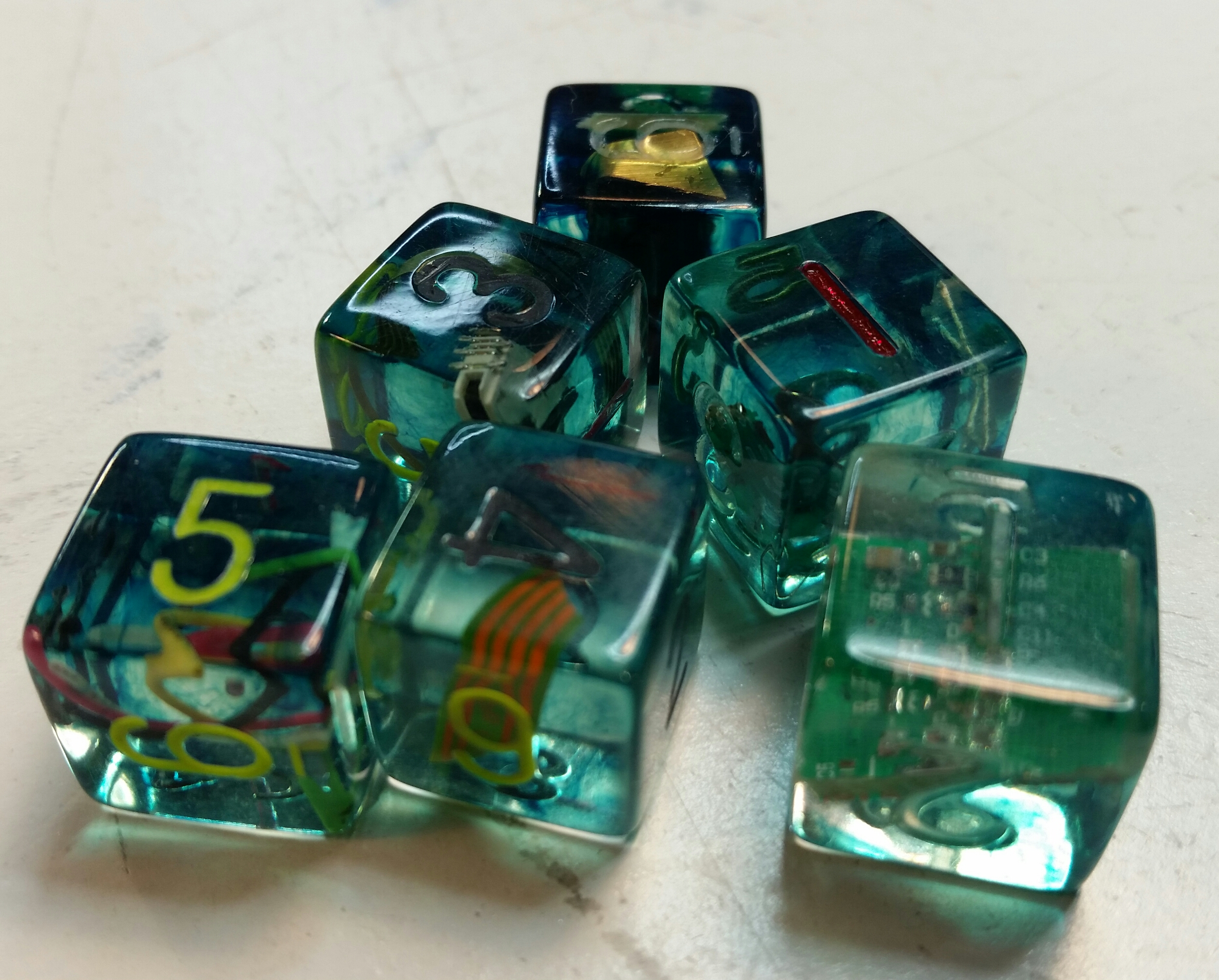 Shadowrun Inspired Dice