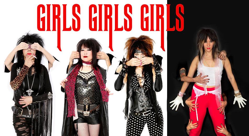 Girl Girls Girls Theater of Pain Album Cover