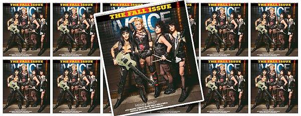 Girls Girls Girls all-girl Motley Crue tribute band female cover villge voice Denise Mercedes Patricia Nilsen Elaine Tuttle