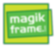Magik Frame Reusable Sign Holder Logo