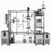 wiped film molecular distillation