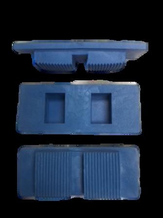 Walking Surface Cast Heels, box of 10ea