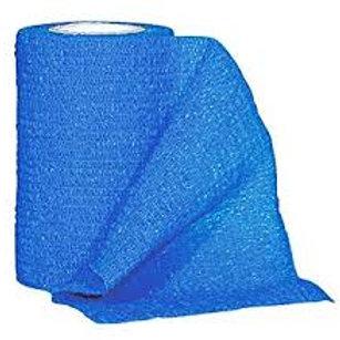 "Cohesive Bandage, 4""x5yds, Blue, 20ea"